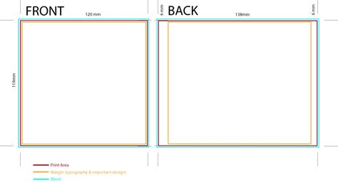 album cover layout template album cover template jewel case stapled booklets image13