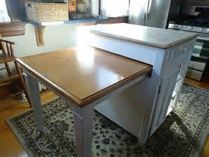retractable table kitchen islands carts