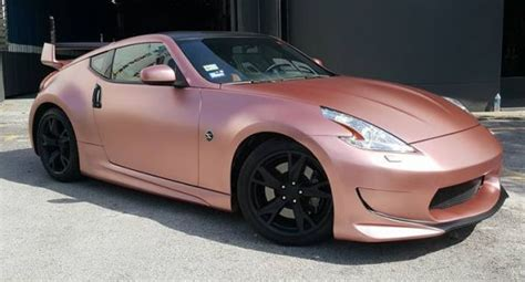 rose gold infiniti car matte rose gold the world s most exotic finishes