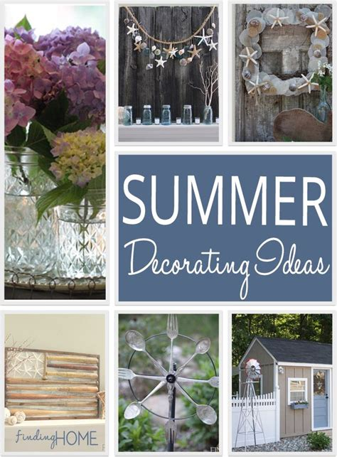 best 25 summer decorating ideas on summer diy