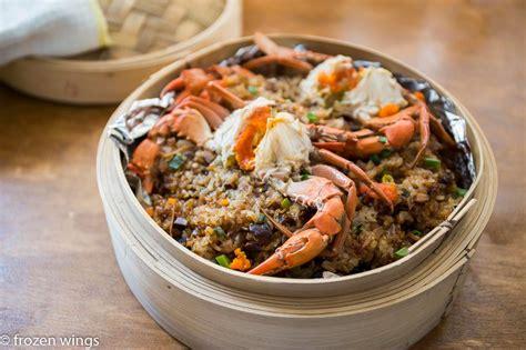steamed glutinous rice  crab keeprecipes