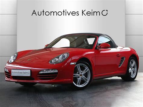 Porsche Boxster 2 9 by Porsche Boxster 2 9 Klima Sh Tempostat Pa Bi Xenon