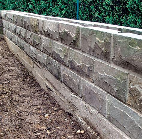 Natursteinmauer Selber Bauen natursteinmauer selbst de