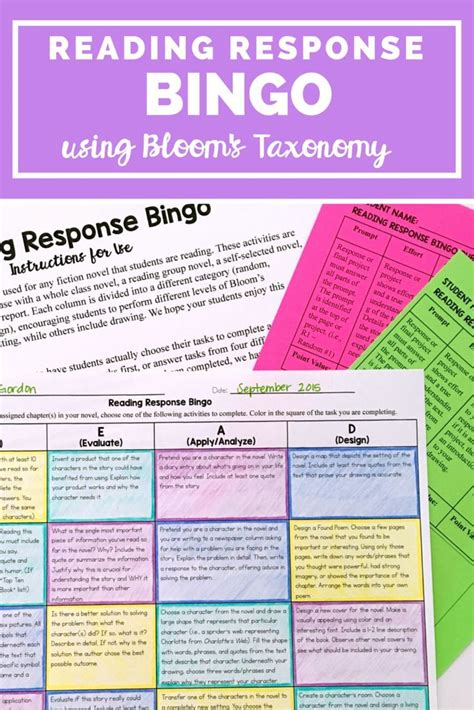 printable reading games for middle school 1000 ideas about middle school reading on pinterest