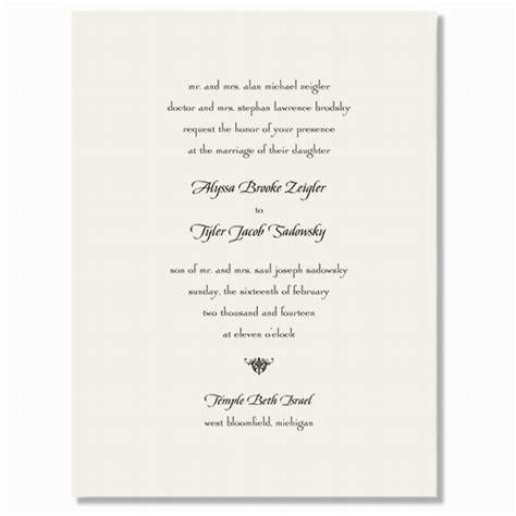 wedding invitations dublin wedding invitations ireland wedding stationery larger sized ecru fold card by william