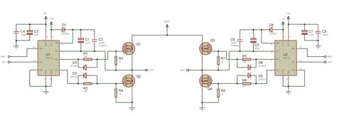 ir2101 bootstrap capacitor tahmid s using the high low side driver ir2110 explanation and plenty of exle circuits