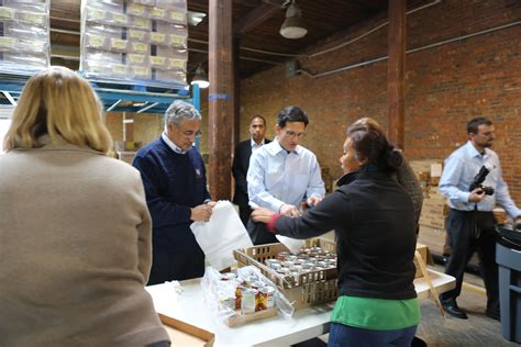Food Pantry Virginia by Congressmen Cantor Participate In Servicerva