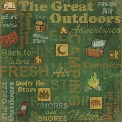 Outdoor Sticker Paper by Cing Outdoors Scrapbooking Paper C Scrapbook Stickers