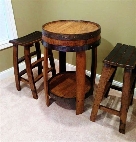 amish whiskey barrel table 25 best ideas about whiskey barrels on wine