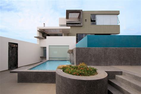 modern home design elements casa cc in playa misterio peru doubles up design elements