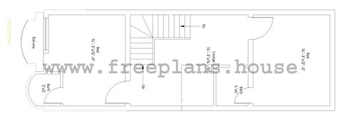 home design 15 x 45 15 215 45 feet 62 square meters house plan