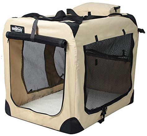 backyard pet soft pet home elitefield 3 door folding soft dog crate indoor outdoor pet home multiple sizes