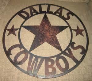 Dallas Cowboys Home Decor by Dallas Sports Sign Metal Art Cowboys Texas Home Decor