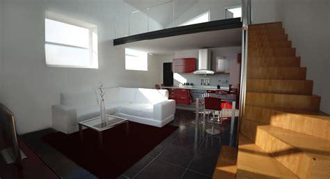 loft open space foto arredo interni arredamento interni open space mitula case