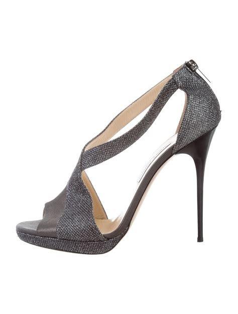 Jimmy Choo Cut Out Pumps In The Cut Designer Sale At Saks by Jimmy Choo Glitter Cutout Pumps Shoes Jim72118 The