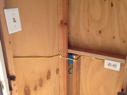 Shed Electrics by Construction Wiring The Shed An Eclectic Mind
