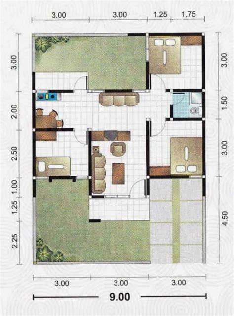 layout rumah 3 kamar tidur memilih denah rumah minimalis modern dengan 3 kamar tidur