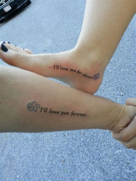 forever love tattoos my mothers and my tattoos arm my foot quot i ll