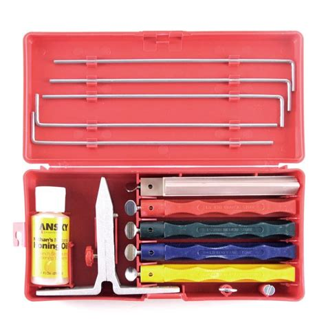 knife sharpening kit lansky professional 4 knife sharpening kit