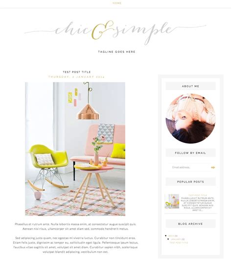 free blogger templates for graphic designers 30 blog templates from etsy stylecaster