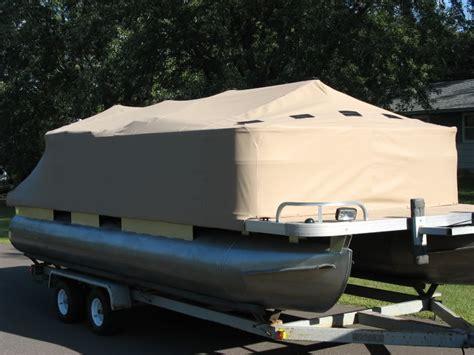 custom pontoon boat mooring covers boat covers service