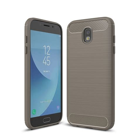 for samsung galaxy j530 j5 pro brushed texture carbon