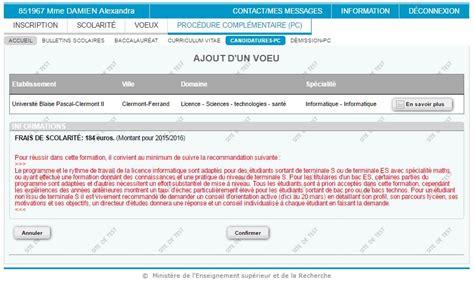 Lettre De Motivation Apb Assurance Proc 233 Dure Compl 233 Mentaire Sur Apb 10 233 Crans Pour Tout