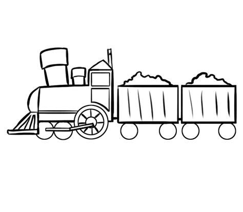 imagenes para colorear un tren tren animado para colorear imagui