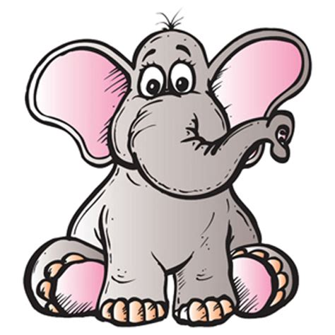 Cartoon Elephant Picture - Cliparts.co