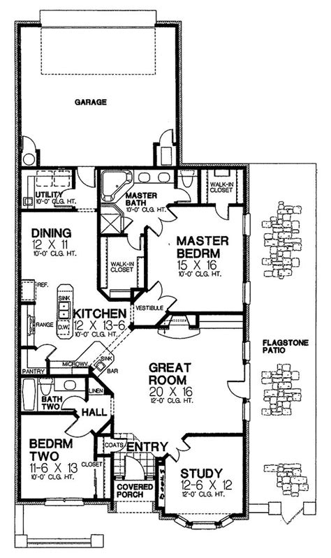 24 new narrow lot house plans with rear garage house plans