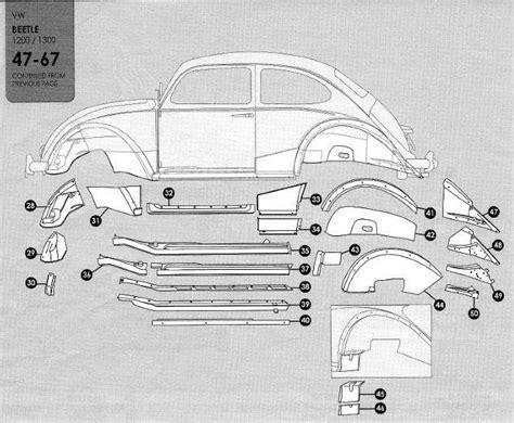 volkswagen beetle   sheet metal