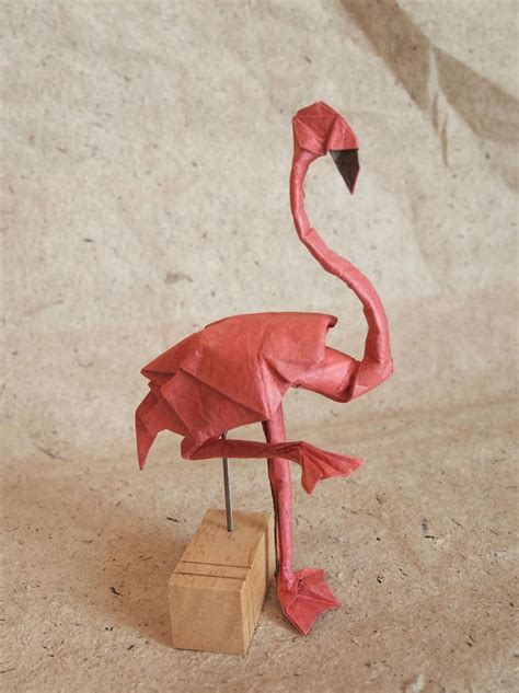 Origami Flamingo - 495 best images about origami 2 on origami