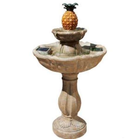 smart solar haddonfield  tier tuscan stone solar fountain
