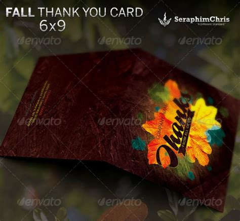 Thank You Card Template Ai by 15 Diy Thank You Card Exles Editable Psd Ai Format