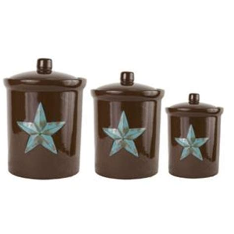 western kitchen canisters laredo star western decor kitchen canister set