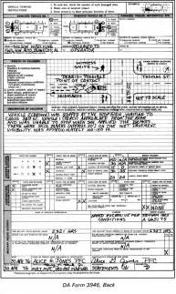 Dod Car Rental Agreement Fm 19 25 Chptr 10 Mp Traffic Report Form