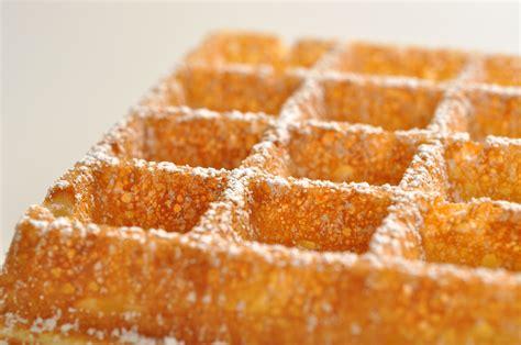 belgian waffle recipe pastry chef author eddy van damme