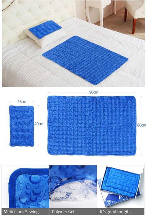 gel pad for bed hanil cool gel mattress bed pad cooling topper waterdrop 1