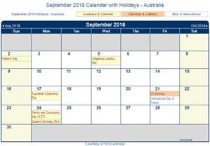 Calendar 2018 Deals September 2018 Calendar With Holidays 2018 Calendar