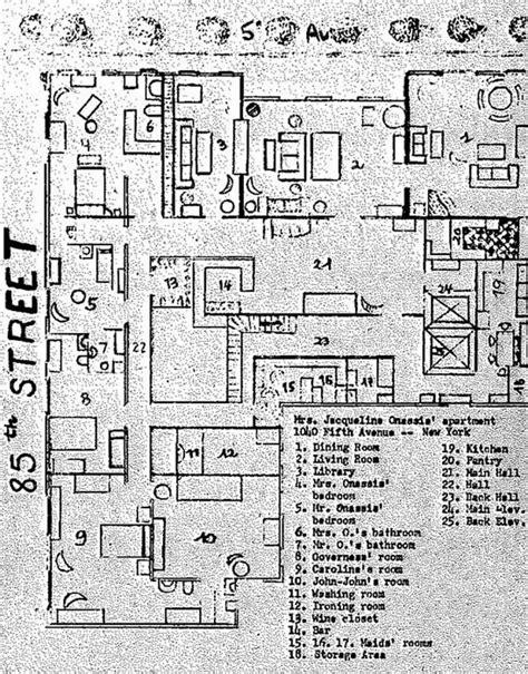 kennedy compound floor plan 70 best 1040 fifth avenue images on pinterest jacqueline