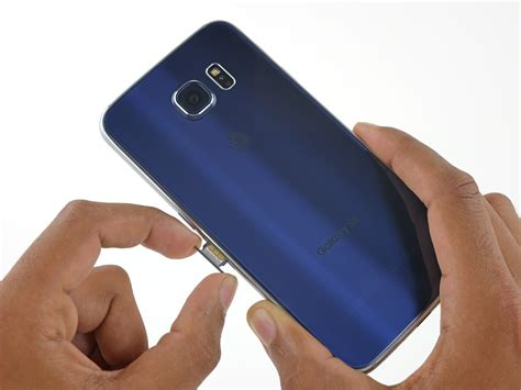 sim card template for samsung s6 samsung galaxy s6 sim card replacement ifixit repair guide