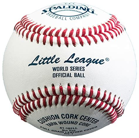 official little world of spalding 41 102ll little league 174 world series official rst baseballs 1 dozen