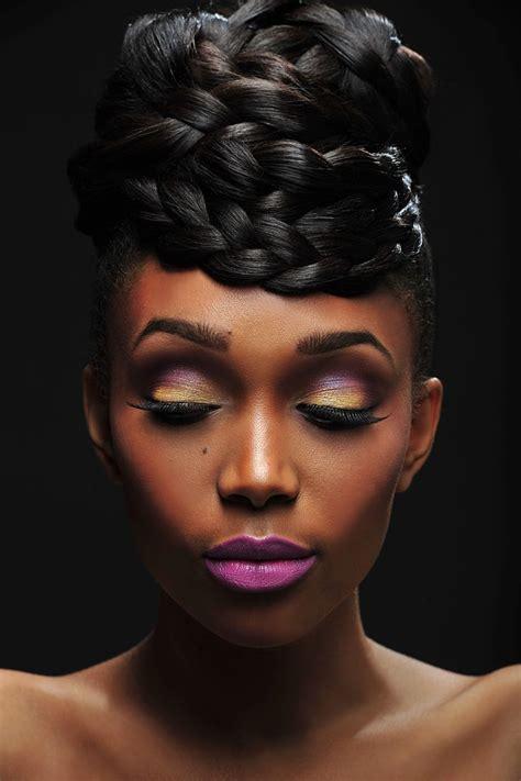 up hairdos black 155 best makeup for black women dark skin tones images