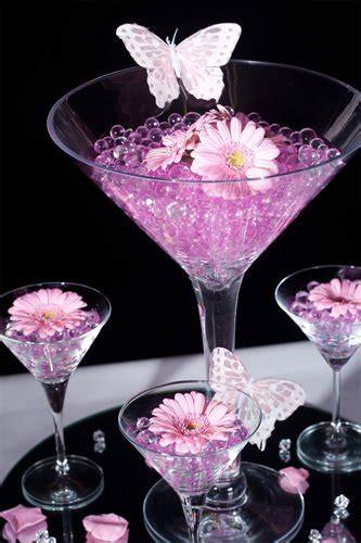 gel balls for centerpieces pink water make wedding centerpiece outstanding