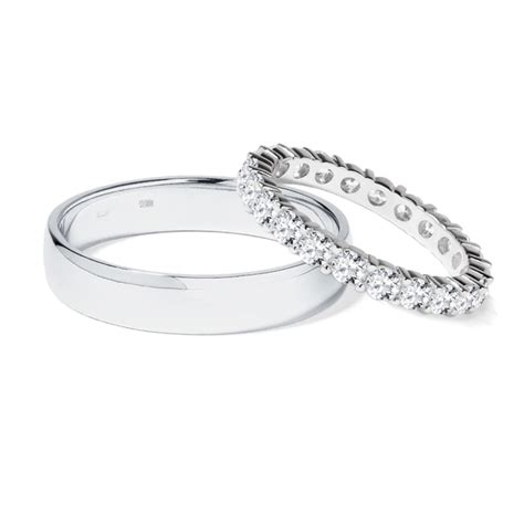 diamant trauring klenota platin trauringe mit diamanten trauringe
