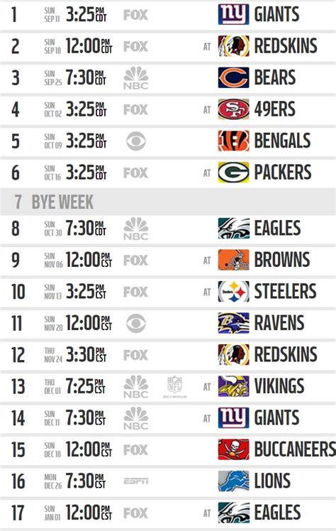 Calendario De Dallas Calendario De Juegos De Los Cowboys Para La Ca 241 A 2016