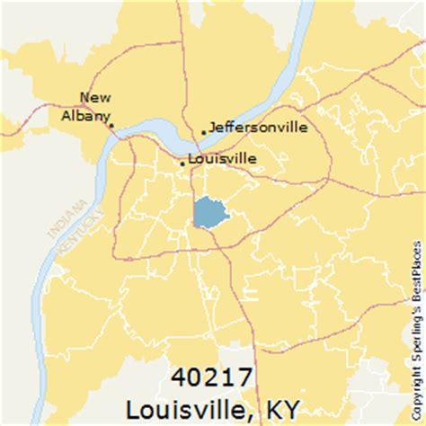 louisville zip code map best places to live in louisville zip 40217 kentucky