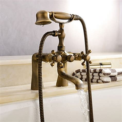 Antique Bathtub Faucets by Centerset Antique Brass Tub Faucet Faucetsuperdeal