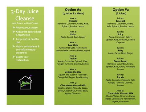 Detox Juice 3 Days Ingredient by 3 Day Weight Loss Juice Cleanse Muse Technologies