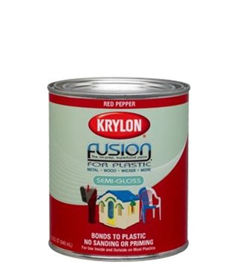 krylon introduces the brush on paint for plastic fusion for plastic krylon for the rv